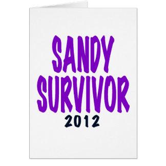 SANDY SURVIVOR 2012, Sandy survivor gifts Card