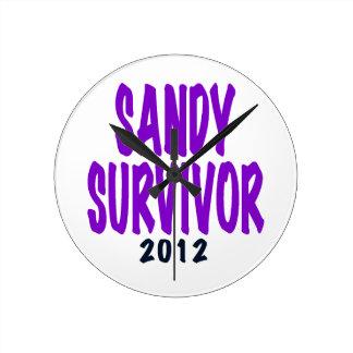 SANDY SURVIVOR 2012, Sandy survivor gifts Wallclocks
