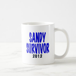 SANDY SURVIVOR 2012, Sandy survivor gifts Classic White Coffee Mug