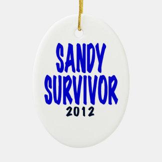 SANDY SURVIVOR 2012, Sandy survivor gifts Ornament