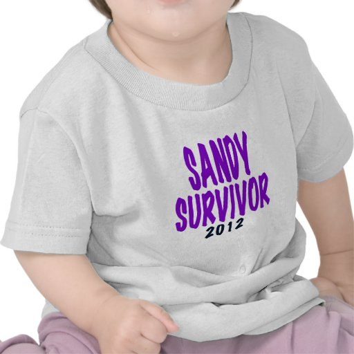 SANDY SURVIVOR 2012, Sandy survivor gifts T-shirts