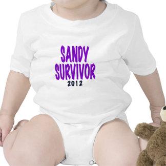 SANDY SURVIVOR 2012, Sandy survivor gifts Baby Bodysuit