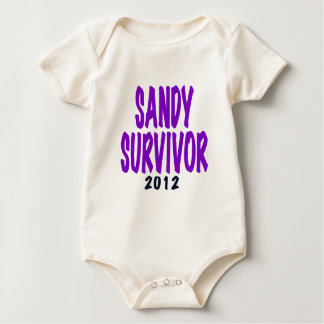 SANDY SURVIVOR 2012, Sandy survivor gifts Baby Creeper
