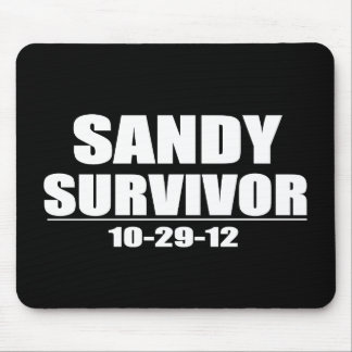 Sandy Survivor Mouse Pad