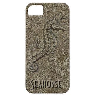 Sandy Textured Seahorse Photograph iPhone SE/5/5s Case
