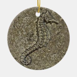 Sandy texturizó la fotografía del Seahorse Ornato