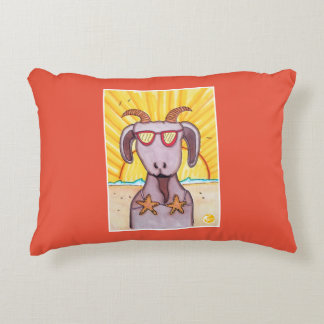 Sandy the Goat Accent Pillow