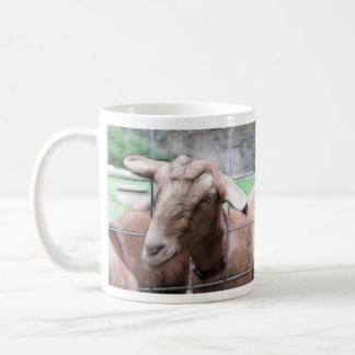 Sandy The Goat At The Gate Coffee Mug