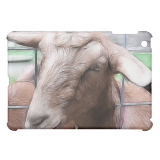 Sandy The Goat At The Gate iPad Mini Case