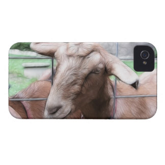 Sandy The Goat At The Gate iPhone 4 Case-Mate Case