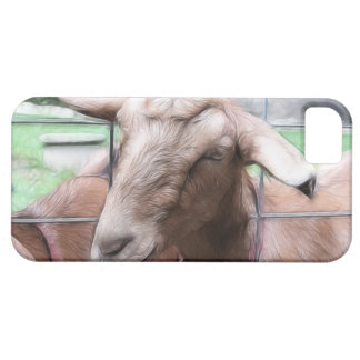 Sandy The Goat At The Gate iPhone 5 Case