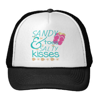 Sandy Toes and Salty Kisses Trucker Hat