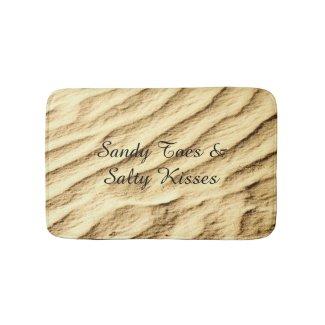 Sandy Toes & Salty Kisses Plush Bath Mat