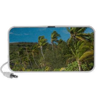 Sandy tropical beach mp3 speakers