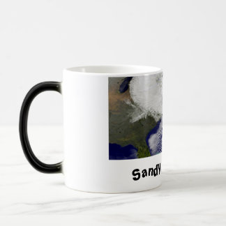 Sandy was here! coffee mug