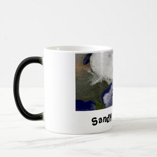 Sandy was here! magic mug