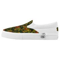 SandyB Animal Print Color Fashion Slip-On Sneakers