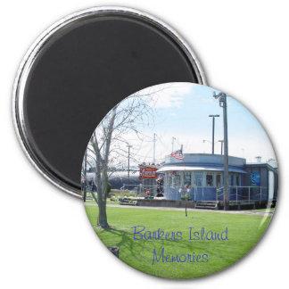 Sandy's Gifts Vintage Barkers Island Refrigerator Magnet