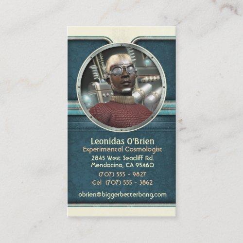 Sane Scientist Business Cards