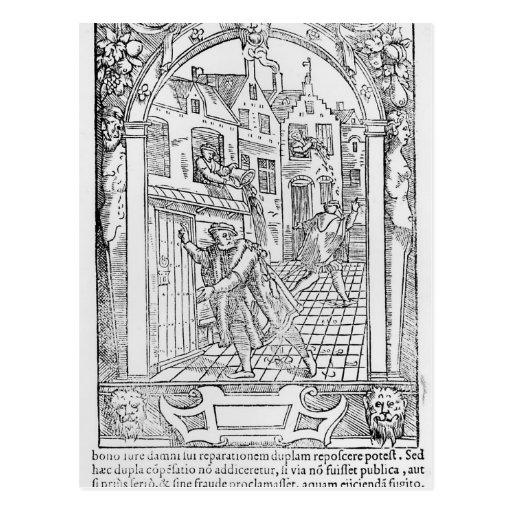 Saneamiento en las Edades Medias Postal