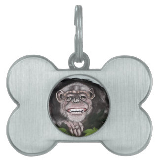 Sanford Ape Pet Name Tag