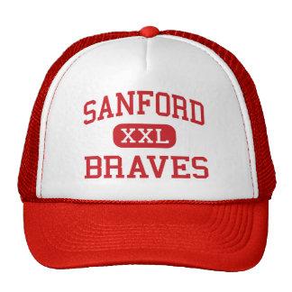 Sanford - Braves - joven - Sanford Maine Gorras