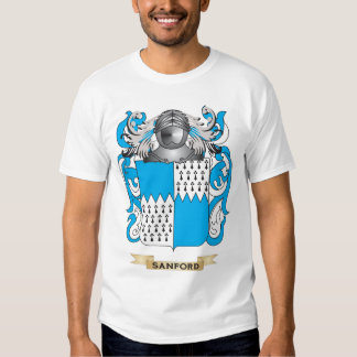 Sanford Coat of Arms (Family Crest) T Shirt