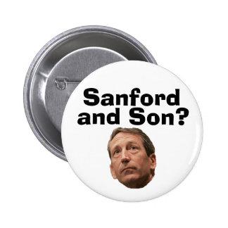 ¿Sanford e hijo? Pin Redondo 5 Cm