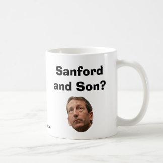 ¿Sanford e hijo? Taza Básica Blanca