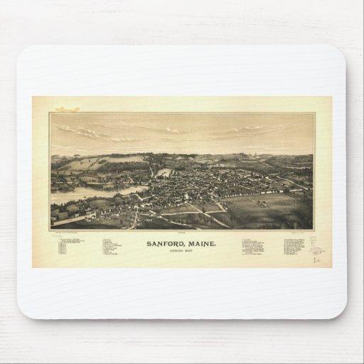 Sanford, Maine en 1889 Tapete De Ratón