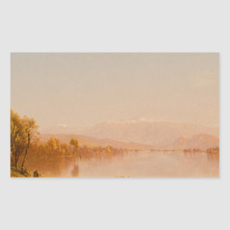 Sanford Robinson Gifford - Indian Summer Rectangular Sticker
