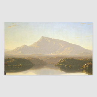 Sanford Robinson Gifford - Wilderness Rectangular Sticker