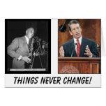 ¡Sanford, Strom, cosas nunca cambia! Tarjeta De Felicitación