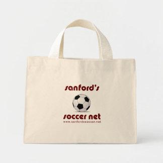 Sanford's Soccer Net logo boot bag