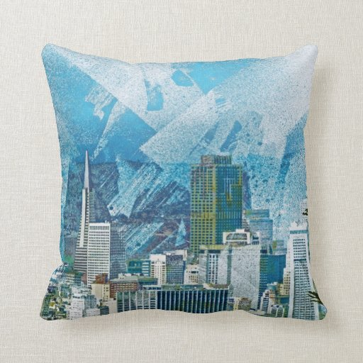 SANFRAN City Cisco AKA Bay area day dreams Pillow