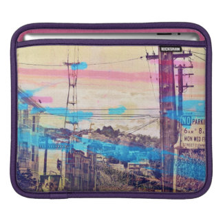 Sanfran-see-peaks mission district san francisco iPad sleeve