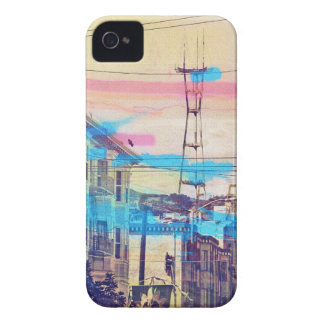 Sanfran-see-peaks mission district san francisco iPhone 4 case
