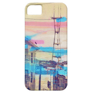 Sanfran-see-peaks mission district san francisco iPhone SE/5/5s case