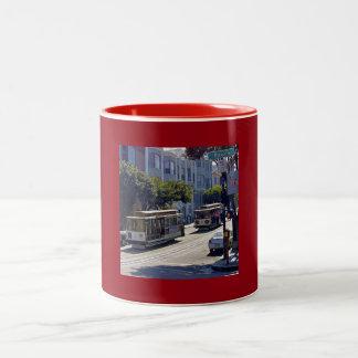 SanFrancisco001 Two-Tone Coffee Mug