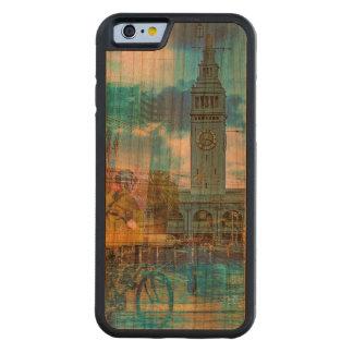 SanFrancisco Embarcadero City Festival Carved® Cherry iPhone 6 Bumper