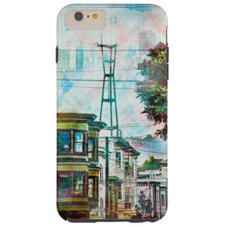 SanFrancisco: The 19th TwinPeaks' World.tif Tough iPhone 6 Plus Case