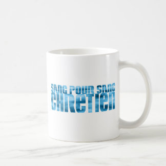 Sang pour sang Chrétien Ciel Coffee Mug