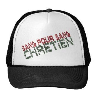 Sang pour sang Chrétien Mesh Hats