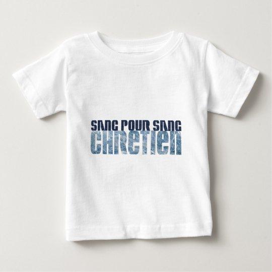 Sang pour sang Chrétien Jean's & Marbre Baby T-Shirt