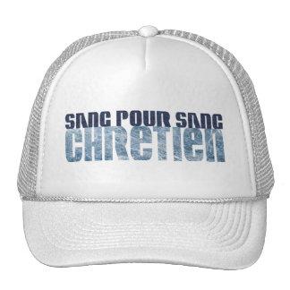 Sang pour sang Chrétien Jean's & Marbre Mesh Hat