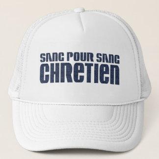 Sang pour sang Chrétien Jean's Trucker Hat