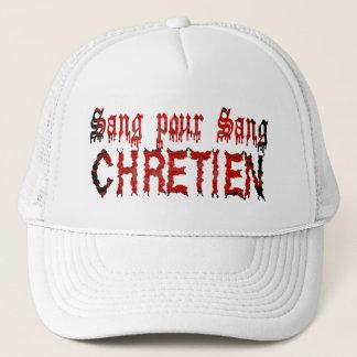 Sang pour sang Chrétien Trucker Hat