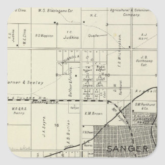 Sanger, California Square Sticker