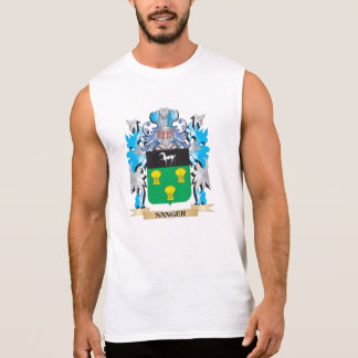 Sanger Coat of Arms - Family Crest Sleeveless T-shirts