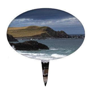 Sango Bay, Sutherland, Scotland Cake Topper